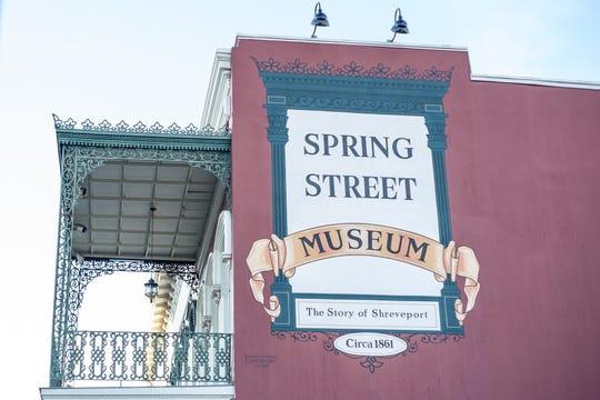 Shreveport's oldest building, dating back to 1864, houses the Spring Street Museum.