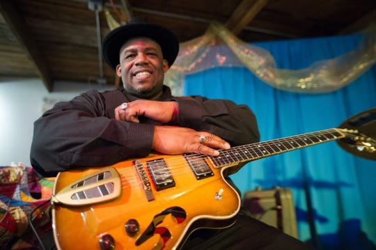 Slam Allen and his jam-up band hit the stage at 9 p.m. Friday at Bradfordville Blues Club.