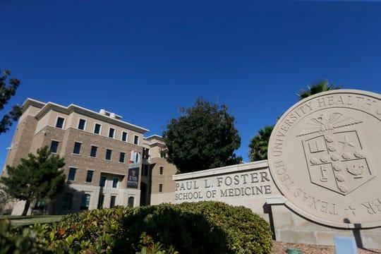 Texas Tech University Health Sciences Center El Paso Paul L. Foster School of Medicine is shown Wednesday, Oct. 23, 2019, in El Paso.