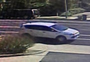 A man driving a white SUV is being sought after for child annoyance incident in Thousand Oaks Monday afternoon.