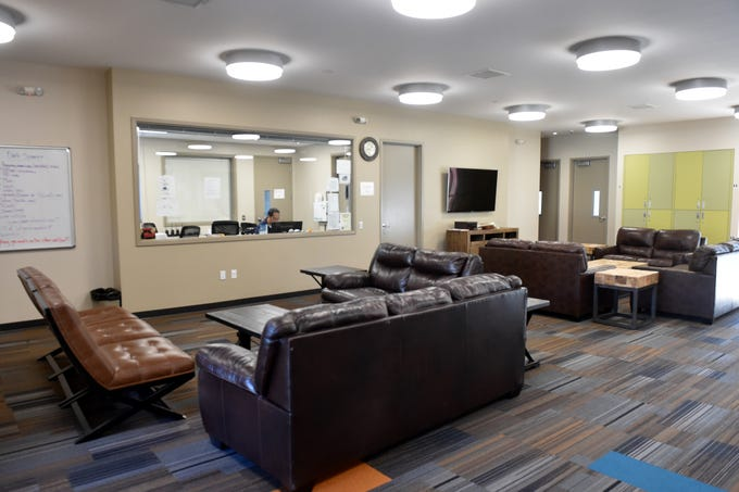 A new residential building at Casa Pacifica Centers for Children and Families in Camarillo includes community rooms for clients who are foster and at-risk youth.