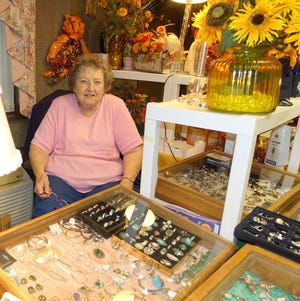 The Woman's Club of Vineland's annual fall Antiques and Collectibles Sale will be held Nov. 1 and 2. Marian Hosier has been running the sale for more than 47 years.