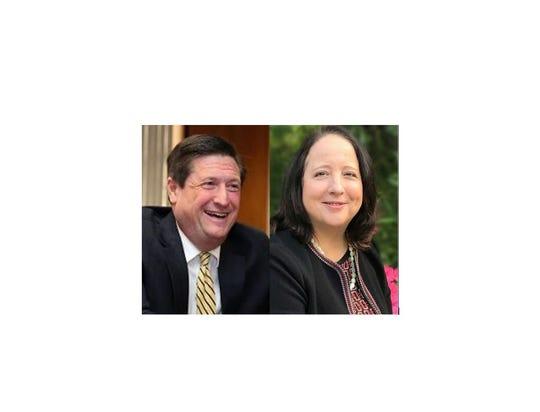 Ramapo supervisor candidates in 2019: Michael Specht and Deborah Munitz