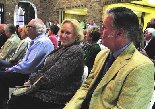 Wichita Falls philanthropist Kay Dillard attended a reception for the naming of the Dillard Energy Center in 2014.