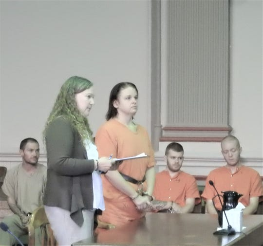 Amanda Umbleby, represented by Attorney Lisa Tome, was arraigned on one count of felonious assault this week.