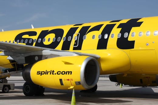 <strong>No. 1:&nbsp;Spirit Airlines FREE SPIRIT.</strong>&nbsp;FREE SPIRIT members earn miles on flights and on partner purchases through Choice Hotels, several car rental companies and dining partners. Round-trip award tickets start at 5,000 miles with extra savings during off-peak periods.