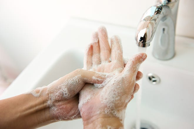 Keep soap around during your move for yourselves and your movers to use in the bathroom.