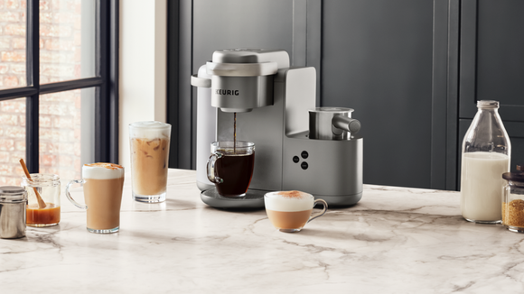 Brew the perfect cup of joe with this pod machine.