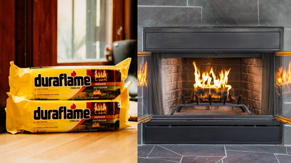 Duraflame logs are more eco-friendly than burning regular wood.