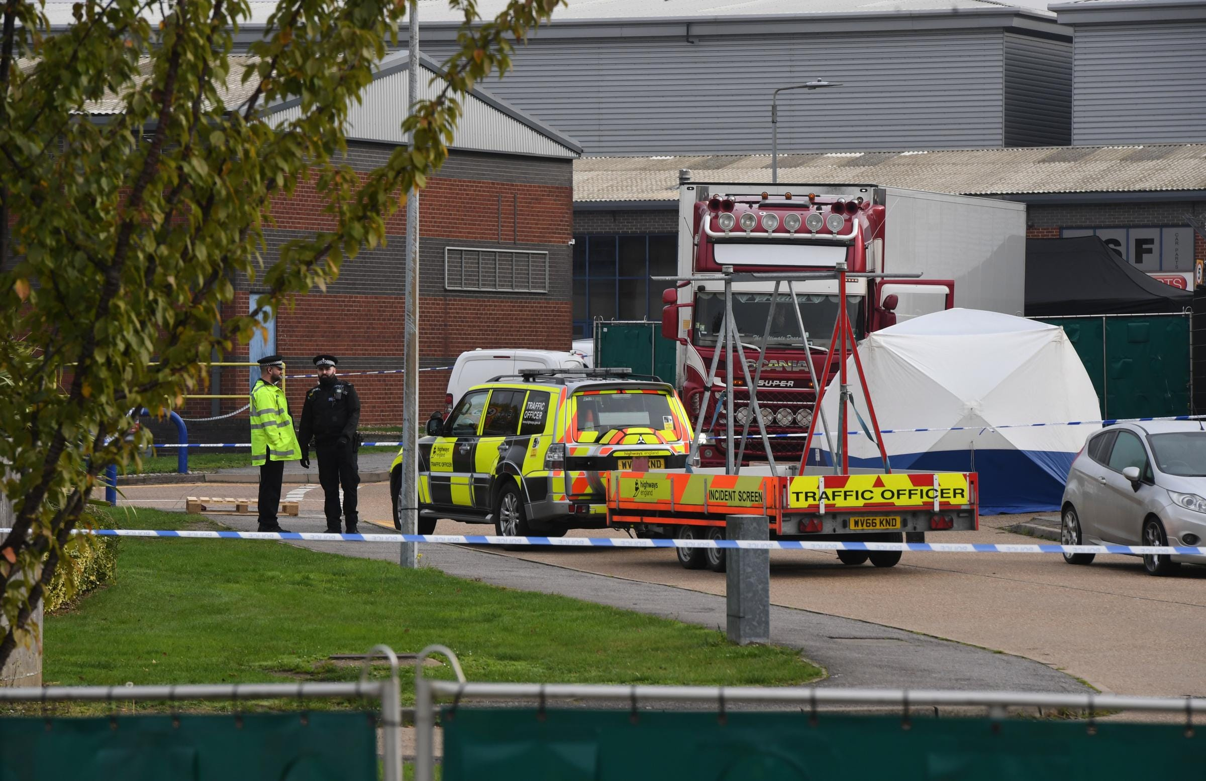39 bodies discovered in truck in England, opening homicide investigation