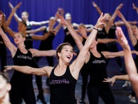 """The Radio City Rockettes allowed cameras into rehearsals for """"The Christmas Spectacular Starring the Radio City Rockettes."""" The production runs Nov. 8 through Jan. 5 at Radio City Music Hall. (Oct. 22)"""