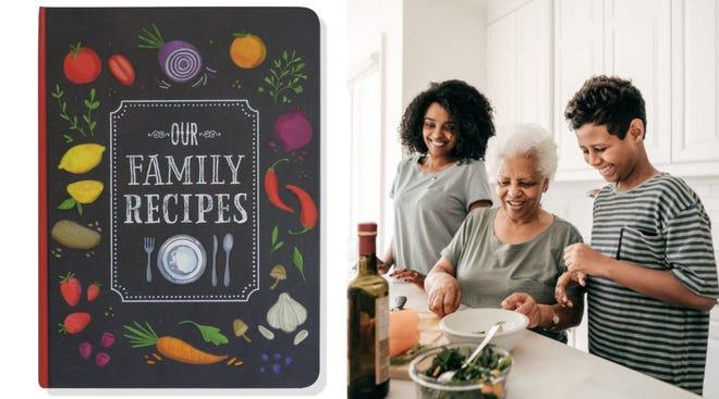 Los mejores regalos para la abuela: Our Family Recipes Journal