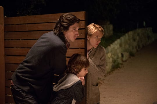 "Charlie (Adam Driver), Nicole (Scarlett Johansson) and their son Henry (Azhy Robertson) navigate a time of emotional turmoil in ""Marriage Story."""