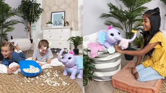 This adorable elephant will be at the top of every kid's wishlist.