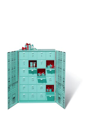 "Tiffany & Co. is selling four of its ""Ultimate Advent Calendar"" with unique pieces of jewelry for each day over a 24-day period. But prepare to splurge: the collection costs $112,000."