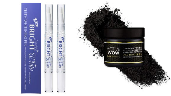 You can try to whiten your teeth two ways with these Amazon deals.