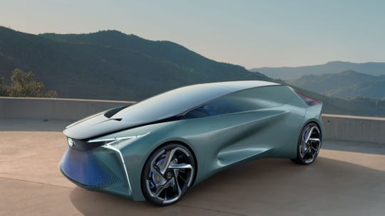 Tokyo Motor Show: Lexus debuts 'Electrified' concept with augmented reality, drone support