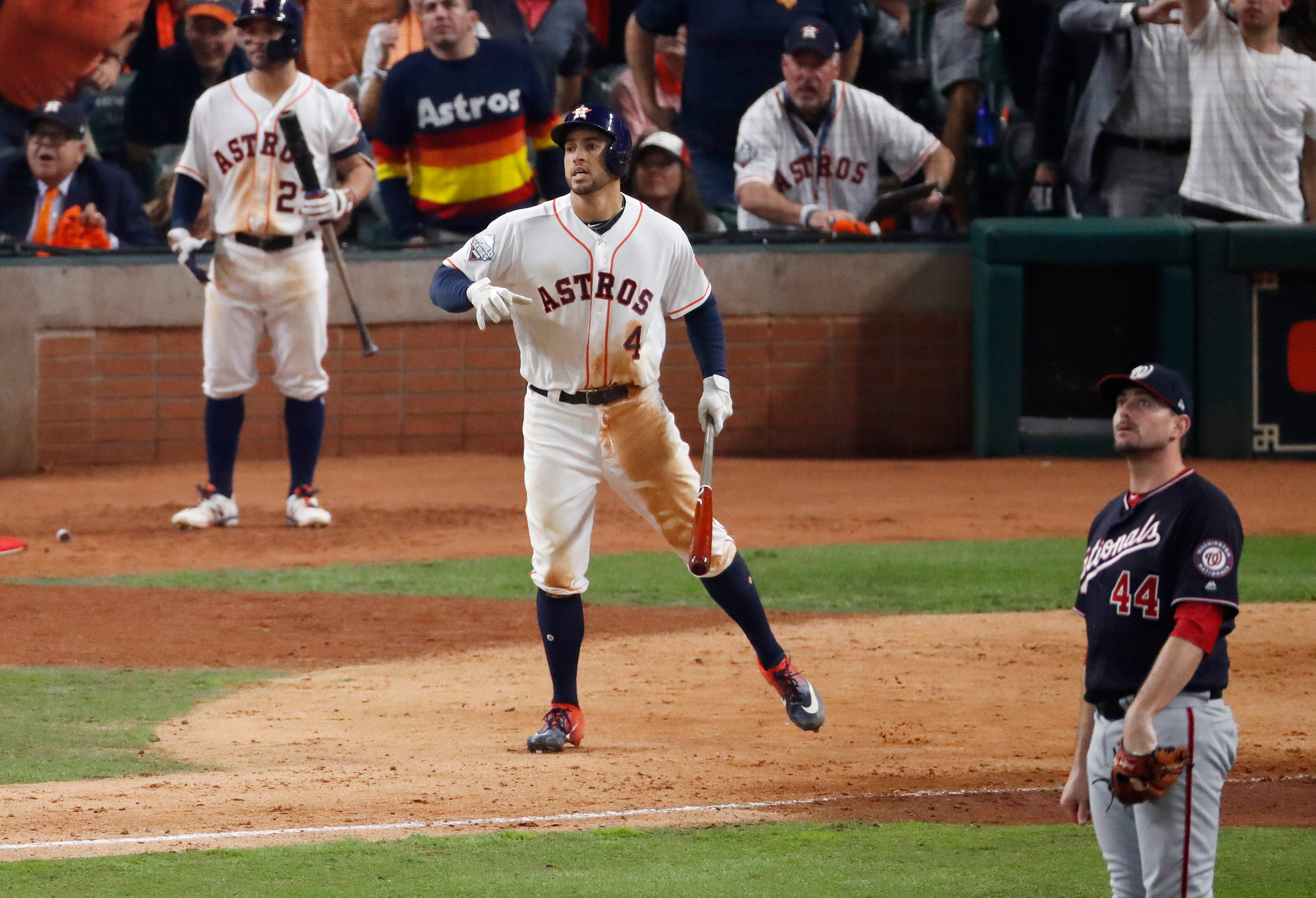 Astros manager A.J. Hinch says George Springers baserunning flap wasnt an egregious pimp job