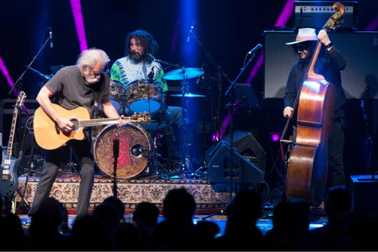 Bob Weir, Jay Lane and Don Was perform March 13 at Count Basie Center for the Arts in New Jersey.