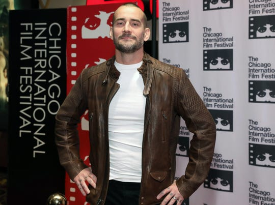 "Phil ""CM Punk"" Brooks attends the red carpet Premiere of ""Girl on the Third Floor"" at the Chicago International Film Festival on Oct. 18, 2019 in Chicago."