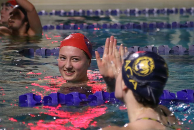 Carolina Day swimmer Olivia Sutter