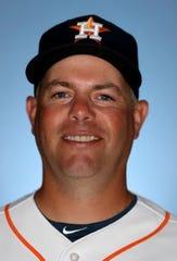 Former Melbourne High pitcher Josh Miller is the bullpen coach for the Houston Astros.