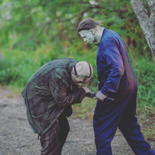 Steven Vasquez, known as the Corpus Christi Jason Vorhees, and his son, Damien Vasquez, who is known as the Corpus Christi Michael Myers, are community figures in the Coastal Bend.