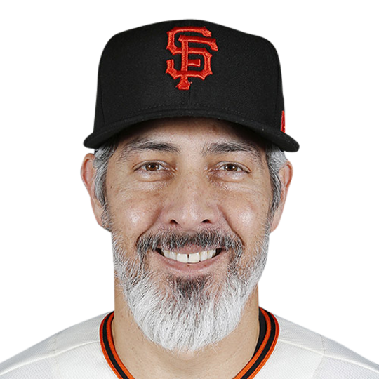 Feb 21, 2019; Scottsdale, AZ, USA; San Francisco Giants member Alan Zinter poses during media day at Scottsdale Stadium. Mandatory Credit: Rick Scuteri-USA TODAY Sports