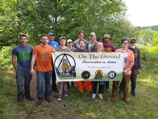 Michigan United Conversation Clubs worked in the Pigeon River Country State Forest in northern Michigan to give oak trees a better opportunity to grow and produce foraging material for such species as wild turkey, wood duck and elk.