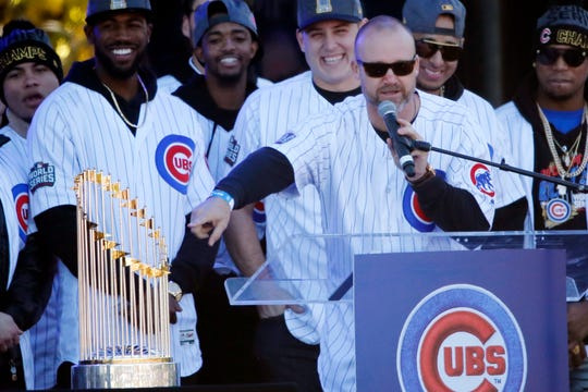 David Ross won a World Series with the Cubs in 2016.