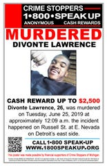 The reward was announced Wednesday.