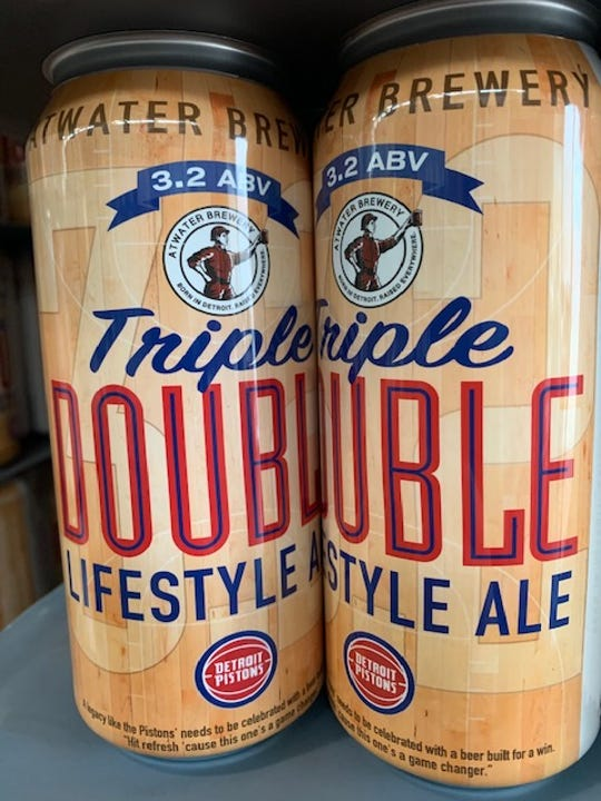 Atwater's Triple Double Lifestyle Ale is just 3.2 percent alcohol by volume.