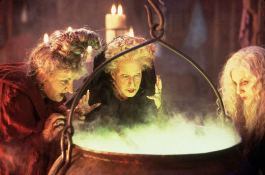 "A still from 1993's ""Hocus Pocus."" (Buena Vista/SNAP/Zuma Press/TNS)"