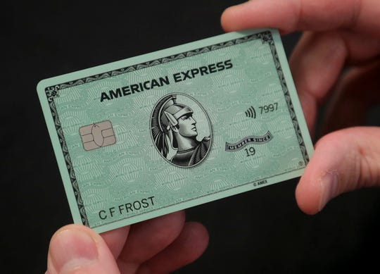 "The new American Express ""Green Card."""