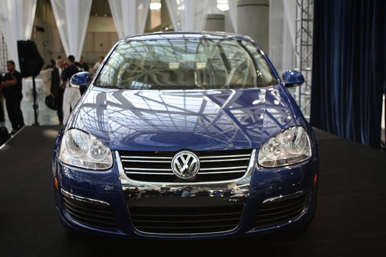The 2009 VW Jetta TDI Diesel was named Green Car Journal's 2009 Green Car of the Year during the Los Angeles Auto Show on November 20, 2008