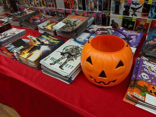 Free comics will be available Saturday at Rupp's 9 a.m. to 6 p.m. and features Marvel, D.C. heroes and books for young children through adults.