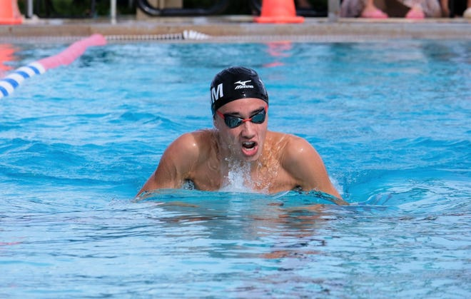 Jimi Hendrix of the Tsunami Swim Club won the 200 meter individual medley race with a time of 2 minutes, 16.30 seconds - six seconds ahead of the second-place finisher - at the All-Island Short Course Meet held Oct. 19 at Andersen.