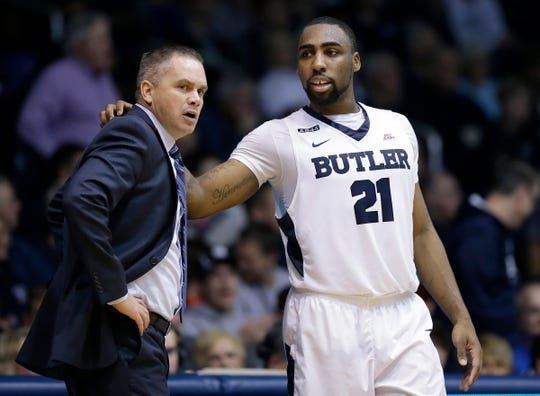 """""""One of my favorite all-time players to coach, and definitely the top five smartest players I've coached,"""" Chris Holtmann said of Roosevelt Jones."""