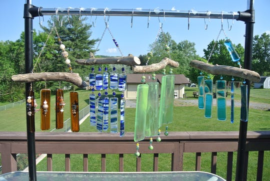Cheryl Kitchens will feature over 50 windchimes at First Friday.