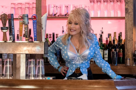 """Dolly Parton in the """"Jolene"""" episode of """"Dolly Parton's Heartstrings"""" on Netflix."""