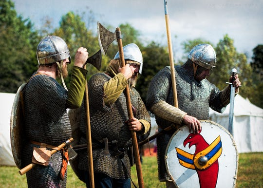The Days of Knights event will be from 10 a.m. to 4 p.m. Oct. 26 and 27 at Alley Park in Lancaster. The event showcases historically accurate garb from around 300 AD to the 17th century. Admission is free, but donations are accepted.