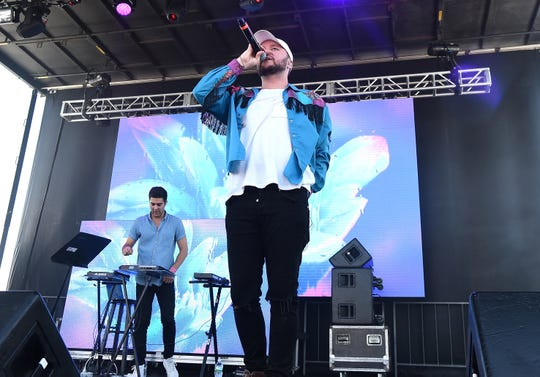 Quinn XCII performs onstage during the 2016 Billboard Hot 100 Festival - Day 2 at Nikon at Jones Beach Theater on August 21, 2016 in Wantagh, New York.