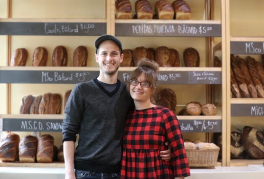 Drew and Emily Hutchison own Madison Sourdough, which produces whole-grain, long-fermented sourdough bread.