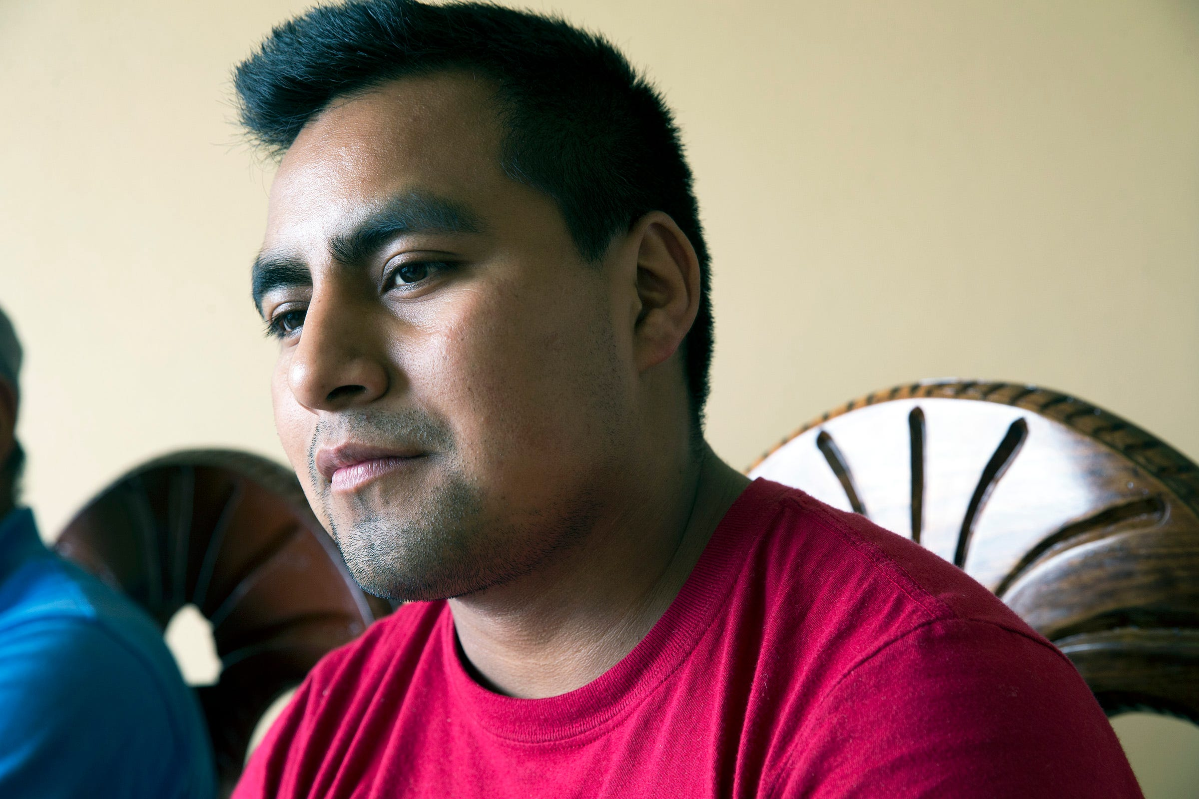 Salvador Salas spent more than six years working at dairy farms in Wisconsin and Minnesota. He returned to Astacinga, Mexico, in 2019.