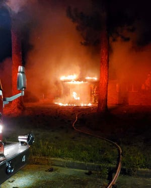 Montgomery firefighters responded to a home in the 2500 block of Westwood Drive on a report of a structure fire. The home was found to be empty and vacant.