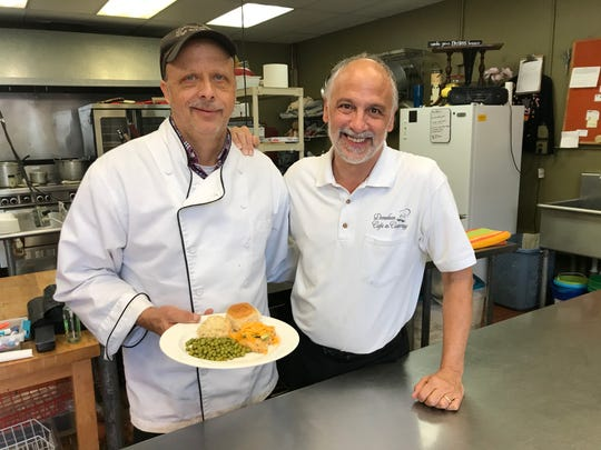 Mark Dickerson and Kevin Miehlke own Donelson Cafe & Catering.