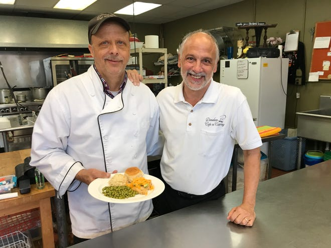 Mark Dickerson and Kevin Miehlke own Donelson Cafe &Catering.