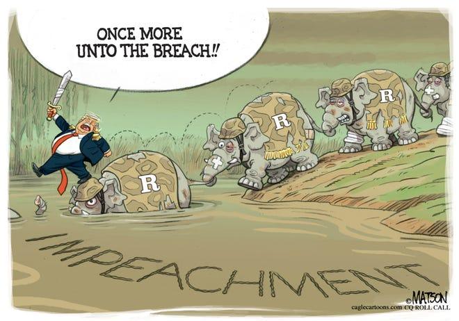 Trump rallies his Republican troops.