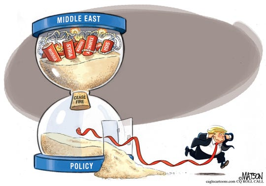 Syria about to blow up.