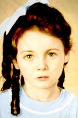 Maris Arnaud as a young girl.